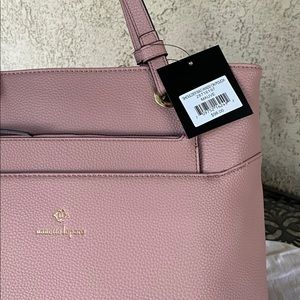 Gorgeous neutral pink purse